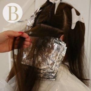 colour, foil highlights, cap highlights, hairdressers in Cardiff near me