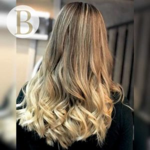 hair colours, cardiff, dip dying, balayage